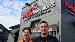 SWL Placement Student Jesse at Melville Bodyworks